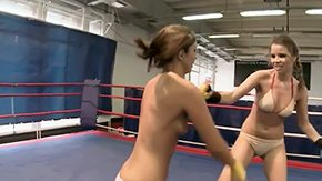 Debbie White, Amateur, Banana, Corset, Crotchless, Fight