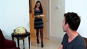 Tim Cannon, Aunt, Blowjob, Brunette, Dress, Fucking