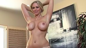 Mature Tease, Aunt, Big Tits, Blonde, Blowjob, Boobs