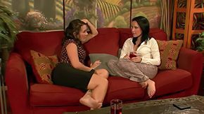 Katie St.ives, High Definition, Lesbian, Lesbian Seduction, Sex, Sofa