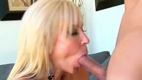Grandmother, Aged, American, Aunt, Ball Licking, Big Cock