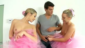 Dressing Room, 3some, 4some, Accident, Ballerina, Big Cock