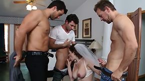 HD Wedding tube Allison Moores wedding He has big problems because her grooms friends Erik Everhard James Deen Ramon want to tell him that Allison fucked with them a single time