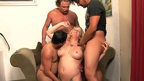 Free Cesar Agustus HD porn 3 boyz Cesar Agustus Hegi Jey Ashley came in conjunction with gang whack risque MILF playgirl named Heidi Mayne demonstrate her intense
