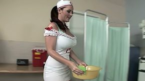 Doctor HD porn tube Compassionate nurse with big boobs 30yo american brunette hair doctor banging hardcore mama patient cumshot fuck uniform white