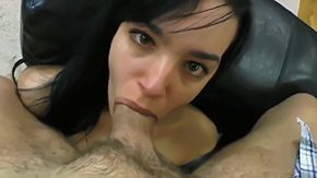 Double Blowjob, Ball Licking, Banging, Big Cock, Blowjob, Choking
