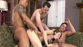 Bill Bailey, 4some, Babe, Ball Licking, Banging, Bed