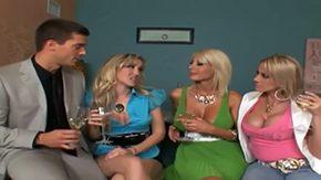 Alana Evans, 3some, 4some, Banging, Blowjob, Cougar