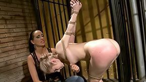 Mandy Bright, Banging, BDSM, Blindfolded, Caning, Chained