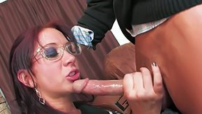 Glasse, Ball Licking, Blowjob, Choking, Deepthroat, Double
