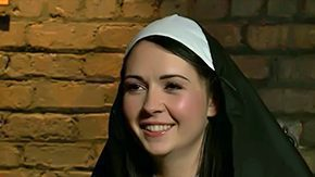 Nuns HD porn tube Angell Summers is unprincipled nun that deserves training Curvy murk with big aggravation obtains tied spanked sexually dominated wide of twosome bodies in black Its distressful
