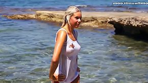 Wet T Shirt HD porn tube Hayley's wet t shirt among european porn clip Hayley is filthy fuck euro chick who loves to improve mind off with her tits this lovemaking episode ardent bazooms can be seen