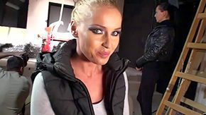 Kathia Nobili, Audition, Backroom, Backstage, Beauty, Behind The Scenes