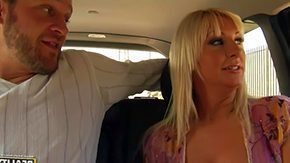 Backseat, Backseat, Big Tits, Blonde, Boobs, Car