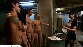 HD Jail Sex Tube Luscious chicks walked in jail cell after fucked with prisoners woman big boobs blowjob foursome kind getting laid reality