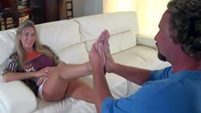Milf Footjob, Aunt, Beauty, Cute, Feet, Fetish