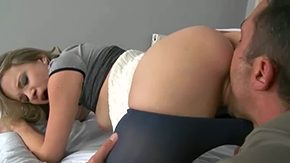 Panty Job, Anorexic, Banging, Bend Over, Blonde, Blowjob