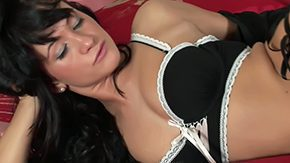 Tess Lyndon, Bed, Brunette, Dildo, Grinding, High Definition