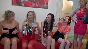 Corrine Derica, Amateur, Barely Legal, Birthday, Blowjob, Champagne