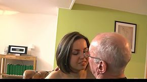 Old Man, Aged, Ass Licking, Assfucking, Babe, Barely Legal