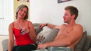 Misty Anderson, Aunt, Big Tits, Blonde, Blowjob, Boobs