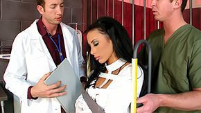 Hospital, Blowjob, Brunette, Clinic, Costume, Doctor