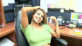 Office Job, Babe, Big Cock, Big Natural Tits, Big Nipples, Big Pussy