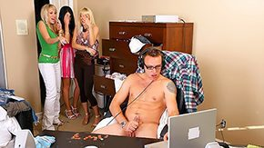 Helped, Blonde, Caught, Group, High Definition, Masturbation