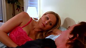 Anne Love, Aunt, Bed, Big Tits, Bodystocking, Crotchless