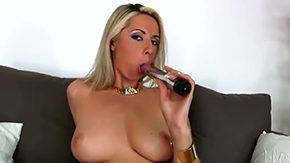 Blonde Dildo, Amateur, Banana, Big Pussy, Big Tits, Blonde