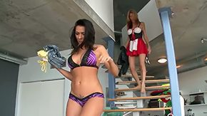 Anastasia Morna, Fingering, Group, Halloween, High Definition, Lesbian