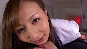 Free Jessica Kizaki HD porn Japanese doctor Jessica Kizaki with gret attraction for dick in white coat gives memorable blowjob to patient with stiff weenie the time between he eppies everything in