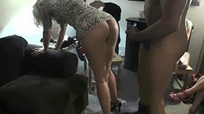 Wife's Friend HD porn tube Girls watch their buttlock neighbor getting fucked 30yo noob american bright-haired brunette doggy from behind spanking group housewife MILF camera screwing party reality