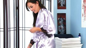 HD Ashley Evans tube Massage-Parlor: A Scrunch down condescend Situation