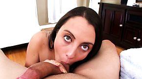 Roxanne Rae, Babe, Big Cock, Blowjob, Brunette, Cumshot