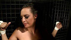 Lesbian Slave, Babe, BDSM, Big Tits, Blowjob, Boobs