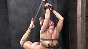 Fitness, BDSM, Blonde, Bound, Choking, Gagging