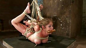 Fisting, BDSM, Blonde, Bondage, Bound, Fingering