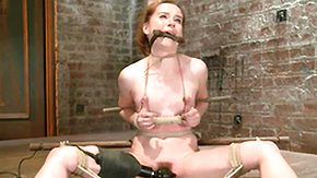 Hairy Legs, American, BDSM, Bondage, Boobs, Bound