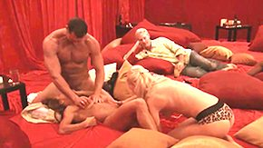 HD Nasty swingers do not mind exchanging partners in order to diversify sex