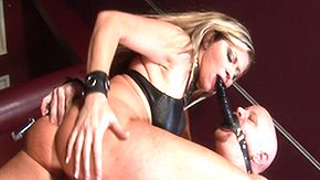 BDSM, Ball Kicking, Ballbusting, BDSM, Blonde, Bondage