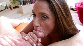 Latin Milf, Ball Licking, Big Cock, Big Nipples, Big Tits, Blowjob