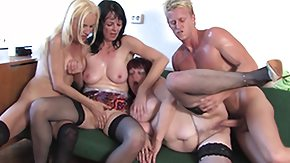 HD Mixed age mature swingers hardcore fucking