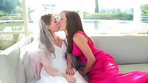 Wedding, 4some, Babe, Blonde, Bride, Brunette