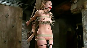 Ballbusting, Ball Kicking, Ballbusting, BDSM, Boobs, Bound