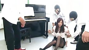 Piano, Asian, Asian Orgy, Asian Swingers, Banging, Brunette