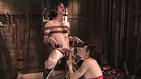 Pain, Babe, BDSM, Bound, Brunette, Dominatrix