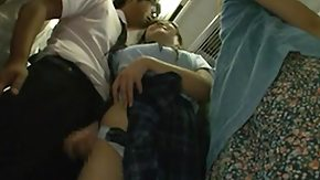 Asian Bus, Asian, Asian Mature, Brunette, Bus, Handjob
