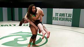 Wrestling, Big Natural Tits, Black, Black Lesbian, Black Mature, Brunette