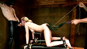 Nipple Clamp, Ass, BDSM, Blonde, Blowjob, Doggystyle